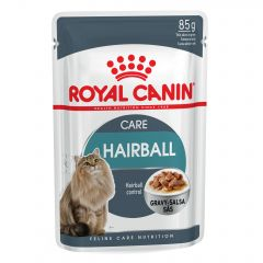 Royal Canin Feline Care Nutrition Hairball Care (in Gravy) Wet Food 12x85g