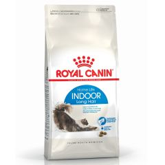 Royal Canin Feline Health Nutrition Indoor Long Hair Dry Food