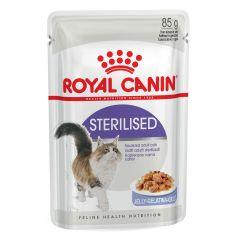 Royal Canin Feline Health Nutrition Sterilised Wet Pouches 12x85g