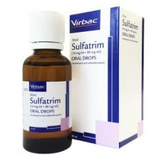 Sulfatrim Oral Drops for Rabbits, Pigeons and Bearded Dragons - 30ml