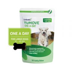 YuMove One-A-Day Chewies for Large Dogs- Pack of 30