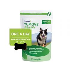 YuMove One-A-Day Chewies for Medium Dogs- Pack of 30