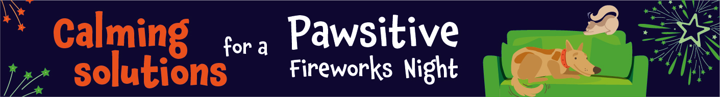 Calming solutions for a pawsitive fireworks night
