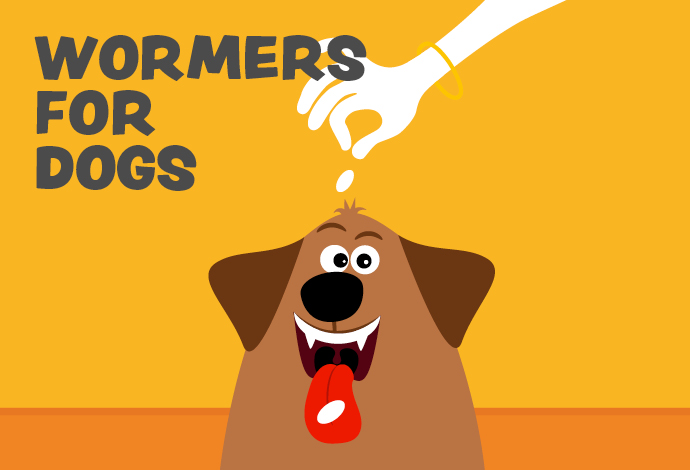 Wormers for dogs