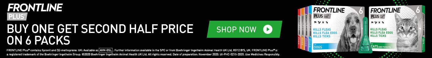 Shop Frontline Plus now!