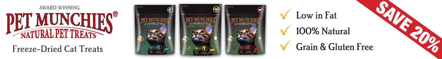 Save on Pet Munchies this month
