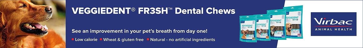 Fresh smelling breath with healthy Veggident chews