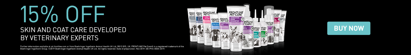 Get 15% off Frontline Pet Care now!