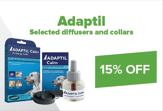 15% off selected Adaptil