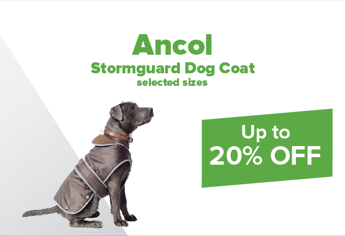 Save up to 20% off selected Ancol Coats