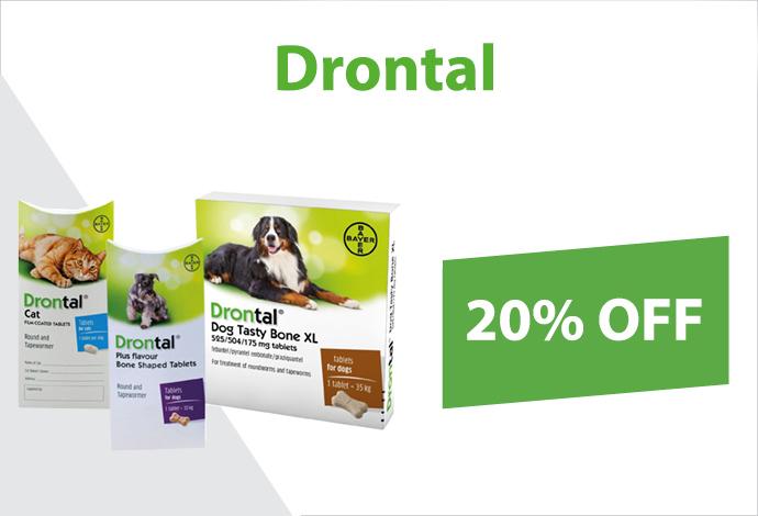 Shop Drontal now!