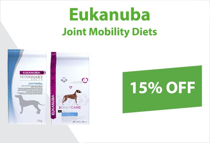 Get 15% off Eukanuba now!
