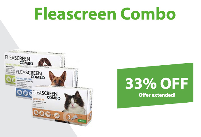 Shop Fleascreen Combo now!