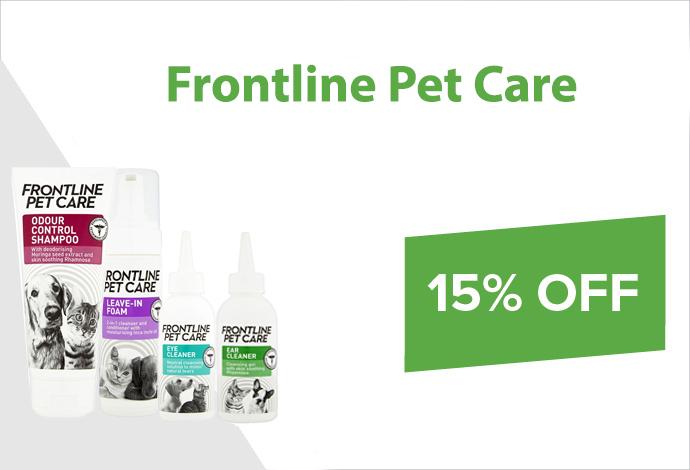 Shop Frontline Petcare now