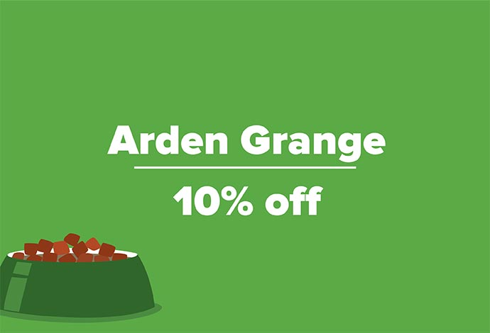 Up to 10% off selected Arden Grange Food