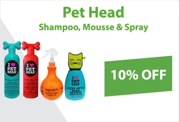 Get 10% off Pet Head now!