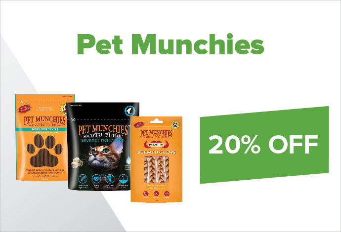 Pet Munchies 20%