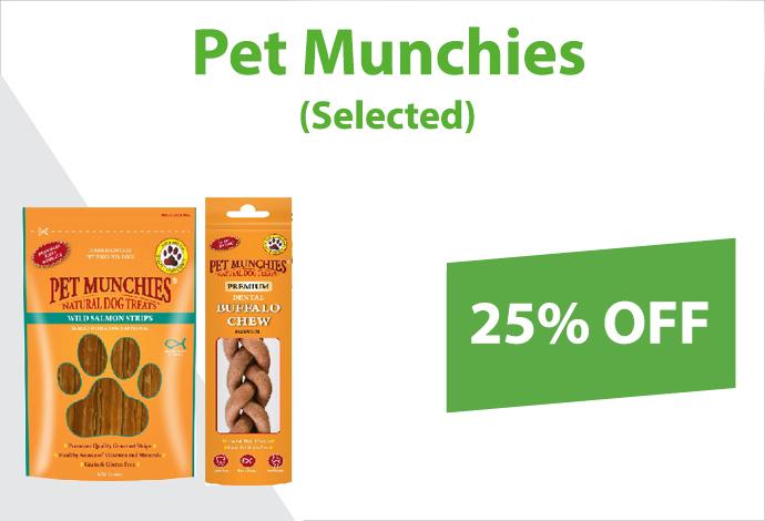 Shop Pet Munchies now!