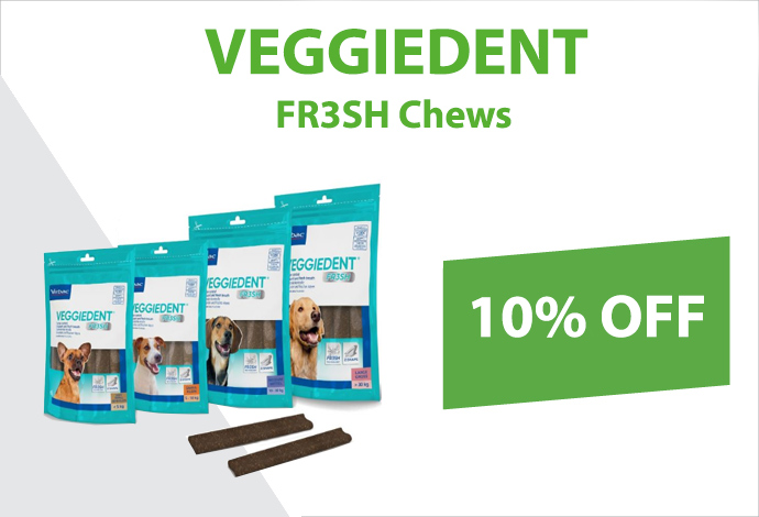 Get 10% off VeggieDent FR3SH now!