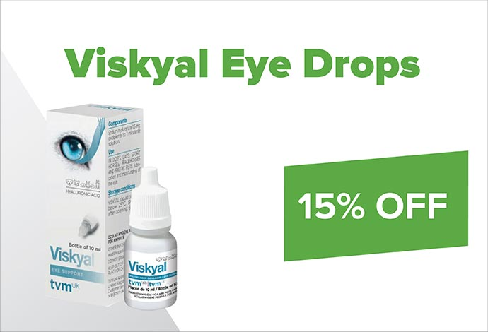 Save 15% off Viskyal Eye Drops during August