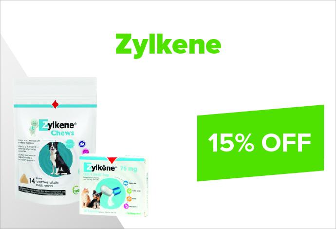 Zylkene 15% off