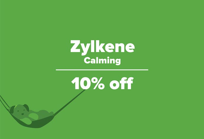 Save 10% off Zylkene during July